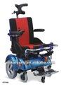 ky159l in piedi in alluminio a piedi sedia a rotelle elettrica