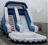 inflatable pool exciting slide/PVC adult slide/big rental slide