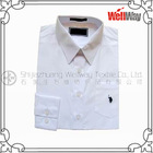 cvc60/40 casual white shirt for men/boys