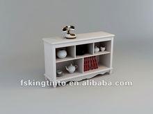 white 3-drawer kitchen cabinet(9W03#)