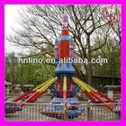 Outdoor kids amusement park plane game for sale