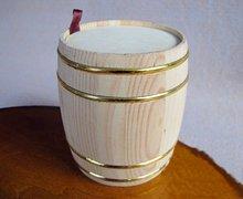 Log beer barrel shape Wooden storage barrels