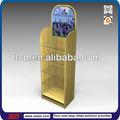 Tsd-w211 de un solo lado de vidrio personalizada de madera estante de exhibición estanterías/piso de ambientador de aire de soporte de exhibición/ambientador de aire de exhibición de madera