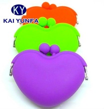 2012 Latest Fashion soft silicone wallet for coin. coin bag