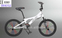 20 inch 2012 hot sale newest style favourite white freestyle BMX kids bike