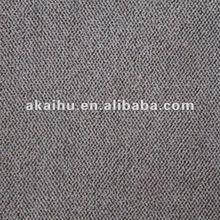 Gray Twill Velvet Fabric 100% polyester For Sofa Fabric