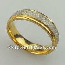 Fashion metal gold ring designs for men