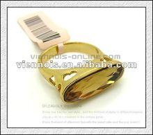 2014 Fashion Ladies Smoke Stone Gold Ring Jewelries