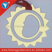 wholesale artistic simple working bookmark sun metal bookmark