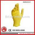 de fibra de kevlar de extinción de incendios corte guantes de protección