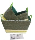 Recycle wheat straw basket
