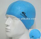 unique silicone swimming cap FD-03
