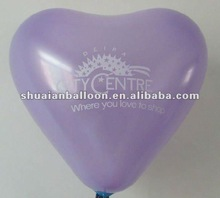 Made in China! Meet EN71! latex heart balloon