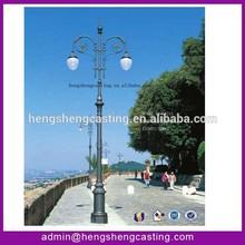 cast iron lighting pole decorative lighting pole street lighting pole