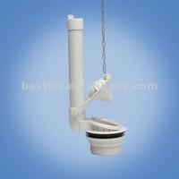 Flapper flush valve with 2'' shank