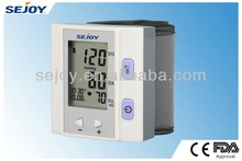 Popular promotion wrist type blood pressure meter (bp-202h)