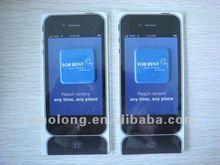 microfiber mobile cellphone sticker screen cleaner