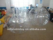 High quality inflatable pumper ball for impact fun/ body zorb ball/bang bang ball