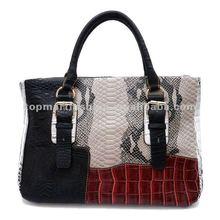 2012 Newest fashion handbag in black color