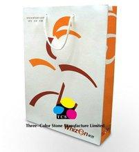Custom Packaging Handbags, Assorted, Reinforced Paper, 100% Recycled