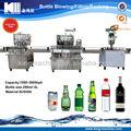 Kleine capactiy glas flasche wasser/saft/bier füllmaschine