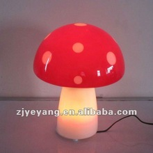 mushroom glass table lamp,desk lamp