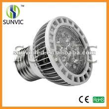 5w aluminum led e27 par bulb
