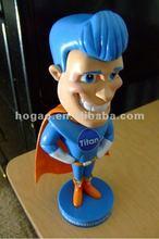 hotsale newest resin craft football figurine bobble head dolls