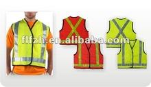 high visibility work vest
