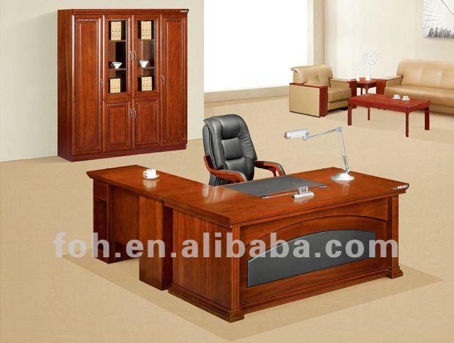 Cl sico de madera de caoba muebles de oficina escritorio for Muebles de oficina woods