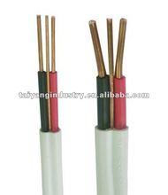 Cu/PVC/ PVC twin&earth wire 300/500v