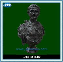 Black Marble Famous Bust Sculpture