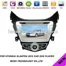 sperical audio system car DVD stereo for hyundai elantra 2012