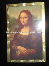 Modern Art Classical Painting Mona Lisa Printing With Frame
