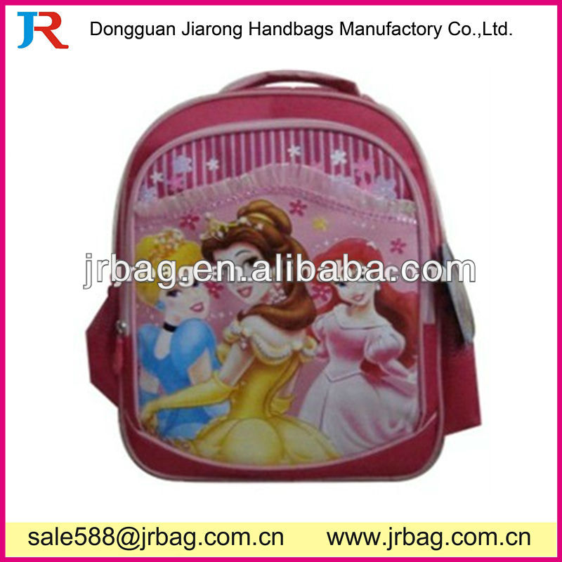 Cheap cute kids cartoon school backpacks for girls