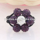Shamballa Crystal Rings Fashion Crystal Rings