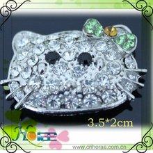 new style!!! hello kitty rhinestone ornament