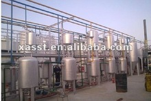 Waste oil distillation/degumming/decoloring plant