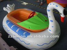 2012 Latest most attractive battary water bumper boat