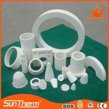 High Pure 1100C vacuum formed ceramic fiber