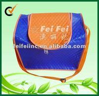 Pepsi freezer travel cooler bag with adjustable handle & zipper on top