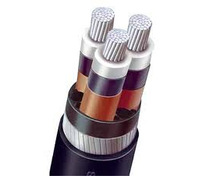 medium voltage XLPE power cable, aluminum conductor 70 mm2, XLPE insulated and PVC sheathed Armored power cable