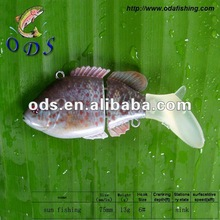multi-jointed hard plastic fishing lures minnow