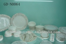 beautiful dinner sets with decal