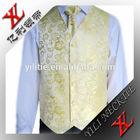 Fashion Jacquard Polyester Men's Waistcoat