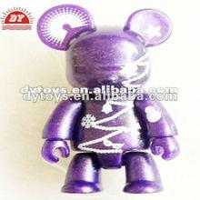 Bling pvc animal toy decoration,teddy bear similar toys