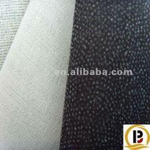 woven fusible interlining adhesive buckram fabric backing
