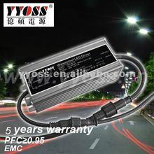 Constant Voltage 5A 60W 110v dc power supply 5 year warranty 91% efficiency