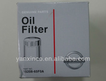 15208-65F0A for Nissan auto parts, Oil Filter