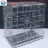 two doors galvanized iron wire dog cage